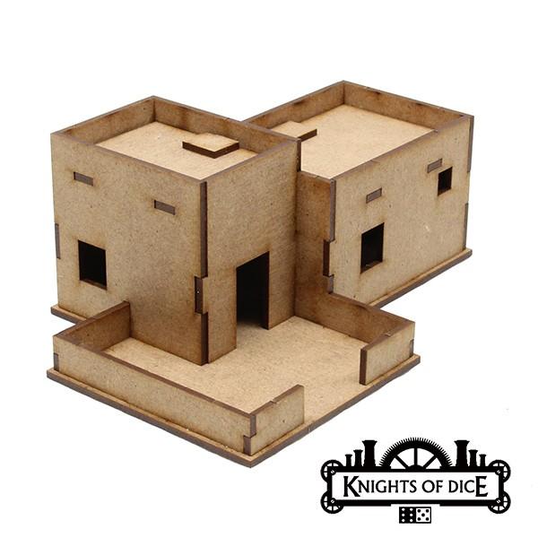 Desert Buildings – Knights Of Dice